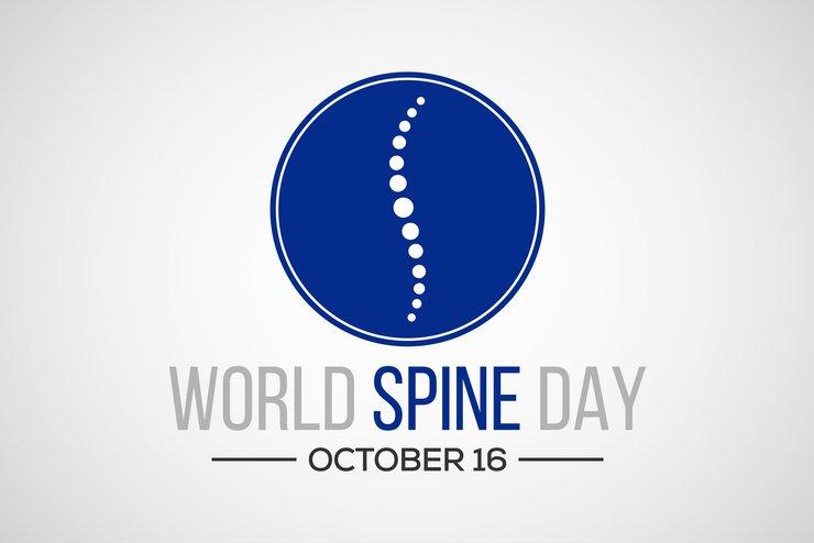 World Spine Day graphic