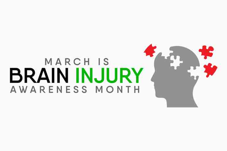 "Graphic image for ""Brain Injury Awareness Month"""
