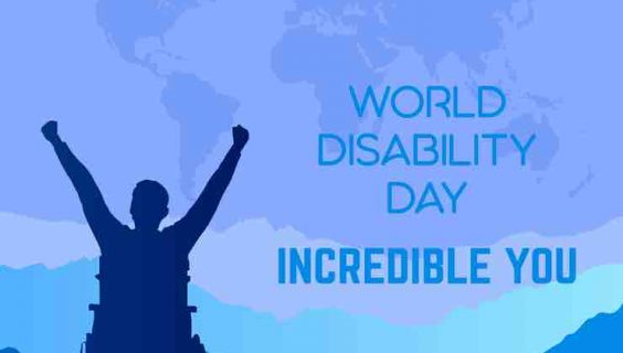 Graphic for world Disability Day
