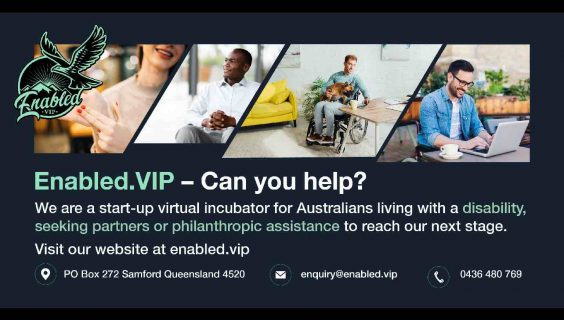 Enabled.vip call for philanthropic partners